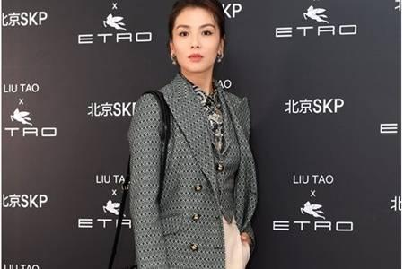 宋茜刘涛都爱穿的时尚职场装,气场大开演绎成熟女性