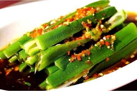 秋葵这五种做法最好吃,蒜蓉白灼制作简单又营养