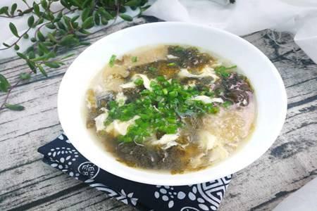 紫菜蛋花汤的做法步骤,鲜美浓郁的蛋花汤一碗喝不够
