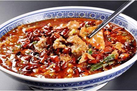 水煮肉片的家常简单做法,鲜辣嫩肉片下饭吃到爽