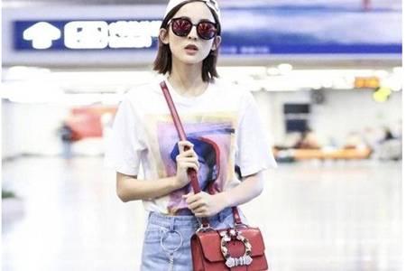 古力娜扎四款同款时尚包包,春夏清爽女士包包推荐