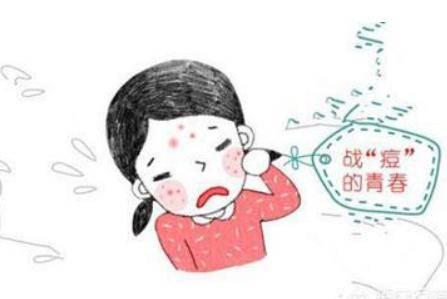 脸上长痘痘的原因,详说青春期的女生有哪些祛痘方法