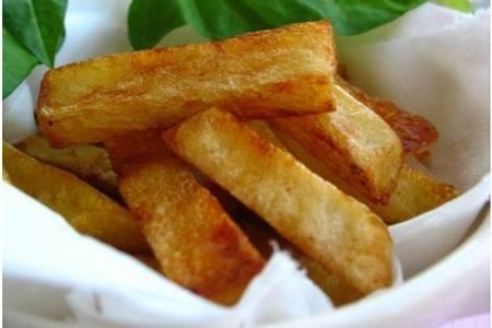 家庭最简单炸薯条的做法,肯德基同款松脆薯条的制作秘诀
