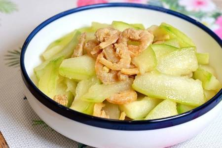 冬瓜怎么做好吃又简单?搭配海米清热去火最营养