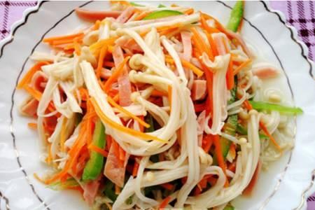金针菇怎么做好吃大全,轻松做金针菇简单家常菜
