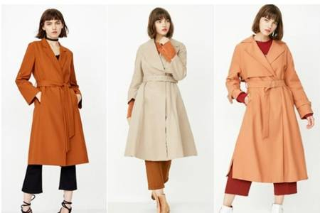 薄风衣外套怎么搭配衣服才好看,女生六件春天风衣穿搭