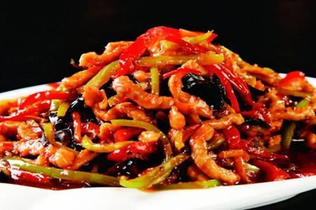 鱼香肉丝的家常菜做法窍门,酸辣酱汁肉丝太下饭