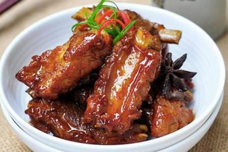 红烧排骨的最简单做法,排骨家常菜肉质酥烂味道鲜香