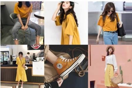 皮肤黄适合穿这6个颜色,2020最显白的夏季衣服款式