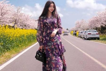 五一出门穿什么衣服最合适,流行长裙款式拍照仙气十足