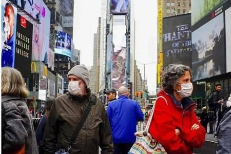 美国疫情最新消息感染病例超45万,死亡人数超1.6万