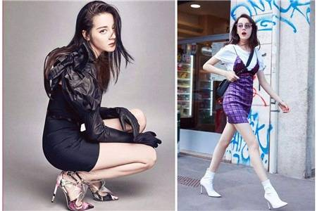 迪丽热巴同款鞋子火了,休闲运动鞋气质高跟鞋时尚带货
