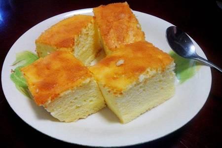 酸奶蛋糕的家常版烤箱做法,最简单的自制蛋糕方法