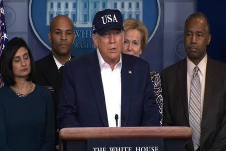 美国新冠感染病例超过150万,特朗普终究说漏嘴了