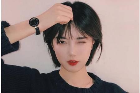 圆脸长脸适合的短发发型,2020年最流行的减龄短发造型