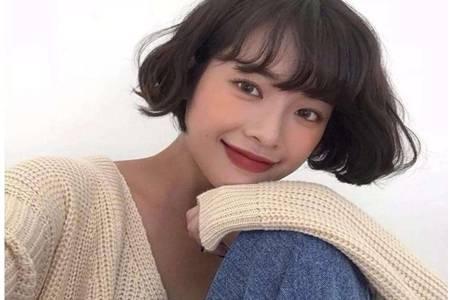 养生美容师女生2020最洋气的减龄发型,羊毛卷韩式短