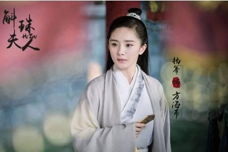斛珠夫人电视剧杨幂陈伟霆阵容强大,杨幂花瓣舞剑古装惊艳