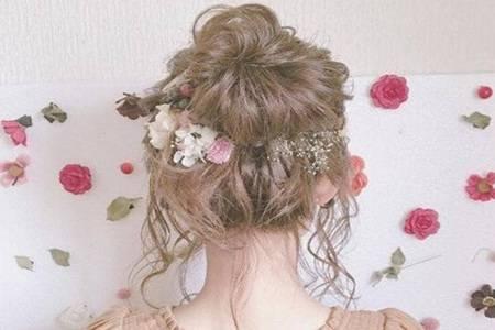 女生如何学习盘发才好看 日系慵懒盘发发型简单易学
