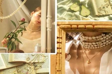 珍珠饰品该怎么搭配  珍珠项梁会越戴越亮吗