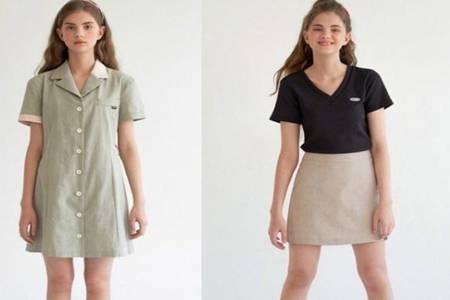 夏天街拍裙子怎么搭配 女孩为何穿短裙该穿搭什么上衣
