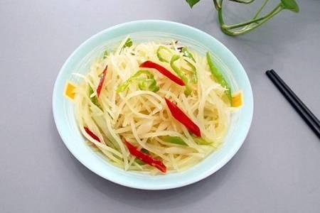 酸辣土豆丝的做法是什么  怎么做酸辣土豆丝才好吃