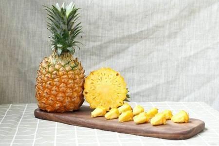 凤梨和菠萝的差别 三个小技巧轻松分辨