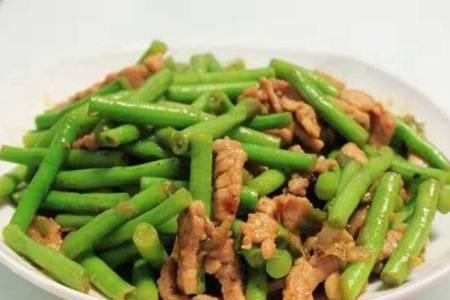 豆角炒肉的做法步骤 家常菜这么做超级下饭