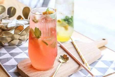 苏打水的功效和作用 三种好喝又养颜的饮品做法