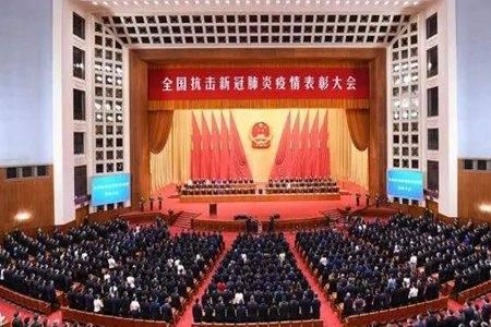 14亿中国人的代表受表彰  中国抗疫图鉴见证这就是中国人!