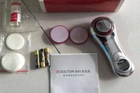 白大夫洁面仪的使用和功效  白大夫洁面仪多少钱好用吗