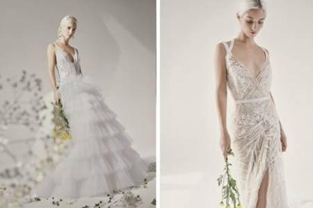 Yolancris2021新季婚纱发布会 TOUCH系列以白色体现新生代女性高级感
