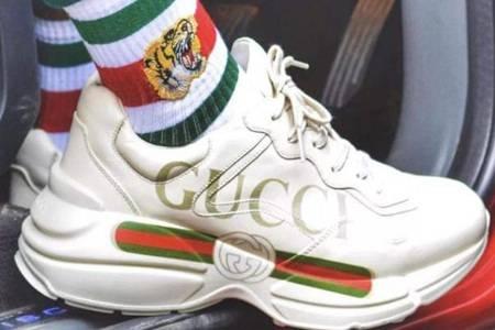 gucci老爹鞋男女款有什么区别 正品Gucci老爹鞋后跟有logo吗