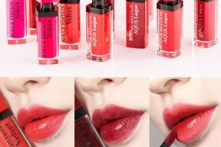 唇彩和唇釉的区别  唇彩和唇釉有什么不同是一样的吗