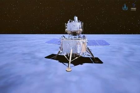 嫦娥五号成功落月,嫦娥五号完成月球钻取采样及封装