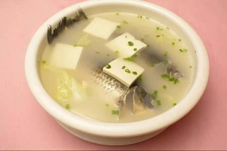 鲫鱼汤怎么炖好喝又营养?鲫鱼豆腐汤的做法