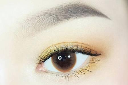 黄色眼影怎么画才好看 这样化妆效果让你美到爆变网红