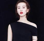 刘诗诗黑色连衣裙配精致珠宝 时尚大片自带仙气魅力十足