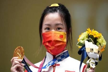 第一首国歌是中国的 东京奥运会获首金00后杨倩个人资料简介