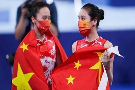 朱雪莹刘灵玲包揽奥运蹦床金银 两人是哪里人有男朋友吗资料简介